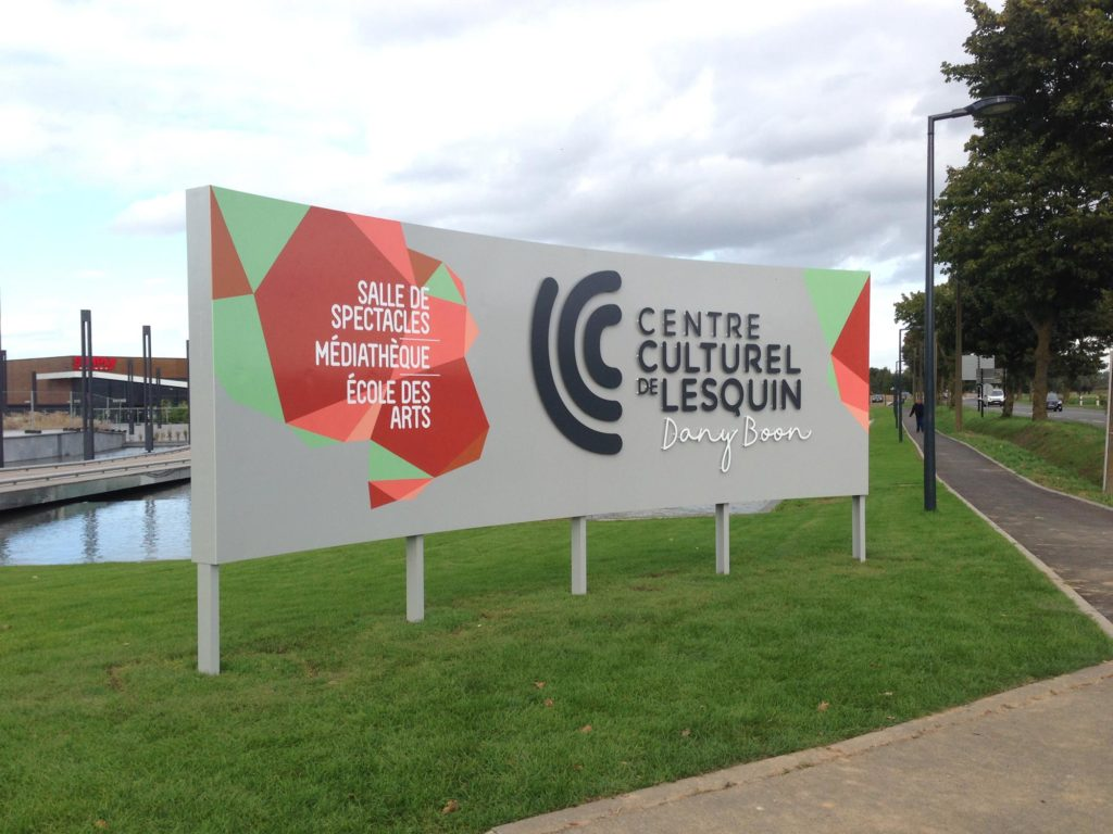 Centre Culturel Lesquin - Signalétique