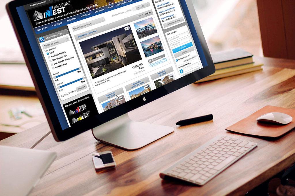 Invest - Site Web